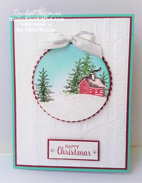 My Stampers With ART Showcase Stamper for the month of October 2109 created some stunning cards with the Snow Front Stamp Set. Click here to see all of Nora Marin's creations. - Stampin' Up!® - Stamp Your Art Out! www.stampyourartout.com