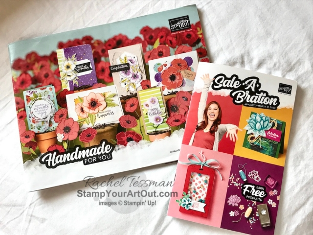 At Stampin' Up!'s November 2019 OnStage in Portland, Oregon! Click here to see the fun of the first few days, some gifts I've gotten from fellow demonstrators, and display boards of new products that will be available in the 2020 Spring Mini Catalog and Sale-a-Bration Brochure! - Stampin' Up!® - Stamp Your Art Out! www.stampyourartout.com