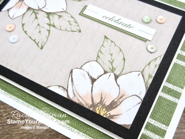 The Magnolia Lane Memories & More Card Packs can be converted into some fun pocket cards with a little added cardstock, the envelopes, and Magnolia Lane designer paper. Click here to see the two original cards I created (with a link to the original post), two more versions of the card, measurements, a how-to video with directions, and links to the products I used. - Stampin' Up!® - Stamp Your Art Out! www.stampyourartout.com