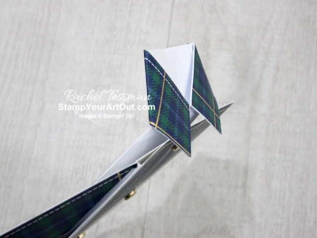 An oldie, but a goodie! The new Wrapped in Plaid Designer Paper made me do it…I HAD to make these fun fold shirt cards again. Click here to watch my video so you can see all my tips and tricks and get the step-by-step directions. You'll also be able to access measurements, see other close-up photos, and get links to all the products I used. - Stampin' Up!® - Stamp Your Art Out! www.stampyourartout.com