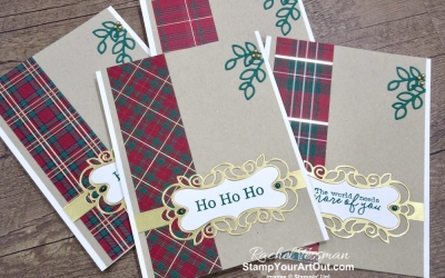Maui Achievers Blog Hop Nov '19: Wrapped In Plaid Z-Fold