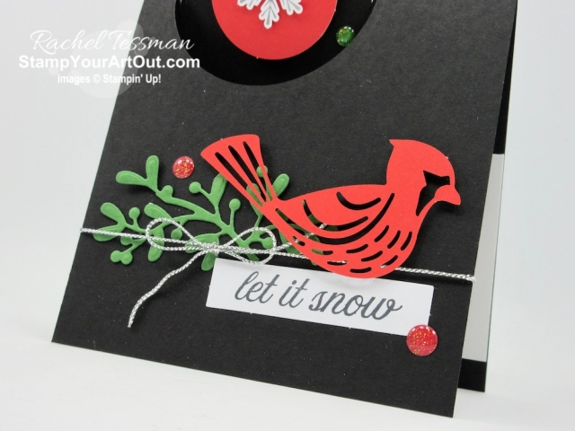 "Click here to see & get details for two fun fold cards and a wine bottle tag I made with the November 2019 Winter Gifts Paper Pumpkin Kit. Plus you can see several other alternate project ideas created with this kit in our blog hop: ""A Paper Pumpkin Thing""! - Stampin' Up!® - Stamp Your Art Out! www.stampyourartout.com"