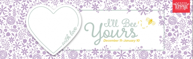 The January 2020 I'll Bee Yours Paper Pumpkin Kit. - Stampin' Up!® - Stamp Your Art Out! www.stampyourartout.com