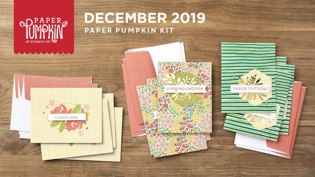 The December 2019 Something for Everything Paper Pumpkin Kit. - Stampin' Up!® - Stamp Your Art Out! www.stampyourartout.com
