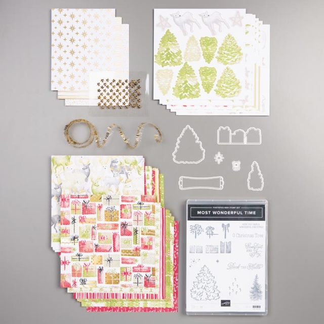Most Wonderful Time Product Medley! - Stampin' Up!® - Stamp Your Art Out! www.stampyourartout.com