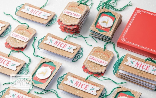 Joy of Giving Tag Kit! - Stampin' Up!® - Stamp Your Art Out! www.stampyourartout.com