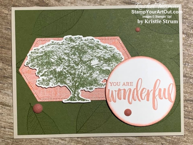 My Stampers With ART Showcase Stamper for the month of December 2109 created some great cards with the Rooted In Nature Stamp Set and coordinating Nature's Roots Dies. Click here to see all of Kristie Strum's creations. - Stampin' Up!® - Stamp Your Art Out! www.stampyourartout.com