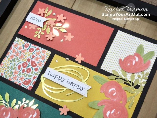 "Click here to see & get details for a beautiful birthday sampler framed décor piece and a super simple thinking of you card that I made with the December 2019 Something for Everything Paper Pumpkin Kit. Plus you can see several other alternate project ideas created with this kit in our blog hop: ""A Paper Pumpkin Thing""! - Stampin' Up!® - Stamp Your Art Out! www.stampyourartout.com"