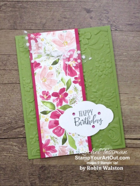 """I've been receiving more cards, and I want to share them with you! Some of these are thank you cards, some are swap cards, some are just """"thinking of you"""" cards... Fun, fun, fun! Click here to all fourteen. - Stampin' Up!® - Stamp Your Art Out! www.stampyourartout.com"""