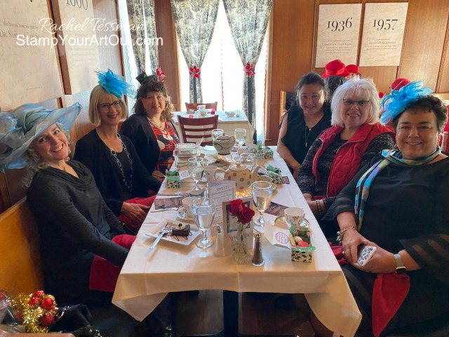 We were spoiled at the Mad Hatter Tea Room during our Stars Elite Tea event! Click here to see the photos and to see the beautiful Peaceful Poppies gift we were each given by our upline Susan Campfield. - Stampin' Up!® - Stamp Your Art Out! www.stampyourartout.com