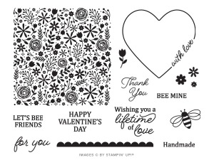 The January 2020 I'll Bee Yours Paper Pumpkin Kit Stamp Set Case Insert. - Stampin' Up!® - Stamp Your Art Out! www.stampyourartout.com