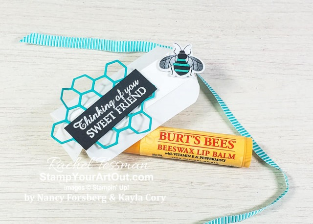 My Stampers With ART Showcase Stampers for the month of January 2020 (a mother/daughter team) created some great projects with the Honey Bee Stamp Set and coordinating Detailed Bees Dies. Click here to see all the creations from Nancy Forsberg and Kayla Cory. - Stampin' Up!® - Stamp Your Art Out! www.stampyourartout.com