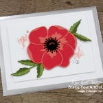 All Star Tutorial Blog Hop February 2020 featuring the Peaceful Poppies Suite of products from the 2020 Spring Catalog. Get directions, measurements and supplies for the card I created and shared. Learn how to grab up the awesome exclusive tutorial bundle. AND see other great ideas with this suite shared by the others in our tutorial group! - Stampin' Up!® - Stamp Your Art Out! www.stampyourartout.com