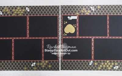 I'll Bee Yours Pocket Card & Page Layout