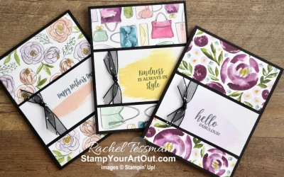 Maui Achievers Blog Hop Feb. '20: Best Dressed Note Card Variations