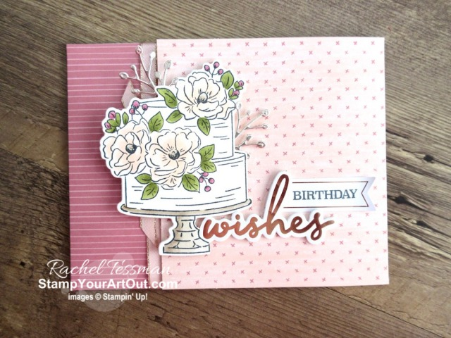 I created a couple fun Twisted Gate-Fold cards that I gifted to a few of my lucky subscribers , a Vertical Sticky Note & Pen holder, a Slide Out Pocket fun fold card, and a set of text magnets using the February 2020 Lovely Day Paper Pumpkin Kit. Click here for more photos and information. - Stampin' Up!® - Stamp Your Art Out! www.stampyourartout.com