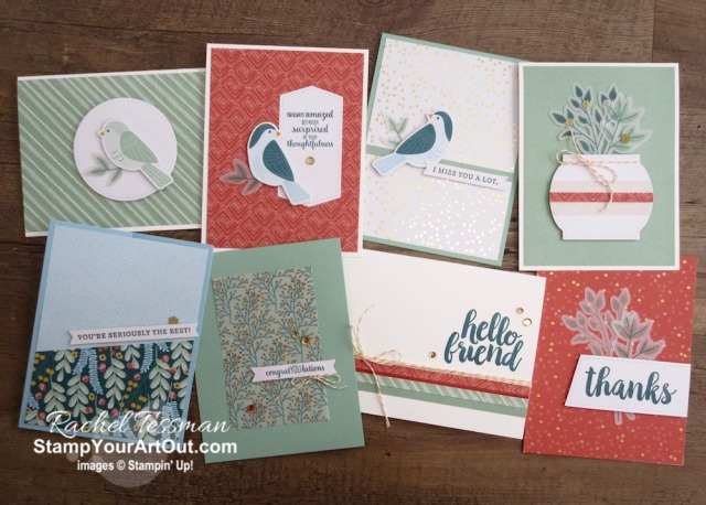 I doubled the cards in the Seriously the Best Card Kit! I first shared these card variations at my 3rd annual Silver Elite Stars' Retreat in Feb 2020. And then I shared them on Facebook Live, YouTube and on my blog a few weeks later. Click here to access measurements, a how-to video with tips and tricks, see other close-up photos, and access links to all the products I used. - Stampin' Up!® - Stamp Your Art Out! www.stampyourartout.com