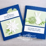 Two distinctly different cards using the same punched pieces! I created a couple spring/Easter cards using circle punches, daisy punches, and images from the Timeless Tulips Stamp Set. Access measurements, directions, and a list of supplies I used that are linked to my online store. - Stampin' Up!® - Stamp Your Art Out! www.stampyourartout.com