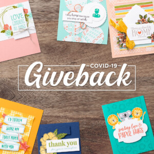 Stampin' Up! is offering a product giveback opportunity to support organizations that are helping COVID-19 frontline responders and communities vulnerable to the pandemic. You can purchase the Share Sunshine PDF Download packed with both lighthearted and heartfelt sentiments and imagery relevant to the unique COVID-19 and social distancing situation we're currently experiencing. And Stampin' Up! is donating 100% of the proceeds to COVID-19 efforts! - Stampin' Up!® - Stamp Your Art Out! www.stampyourartout.com
