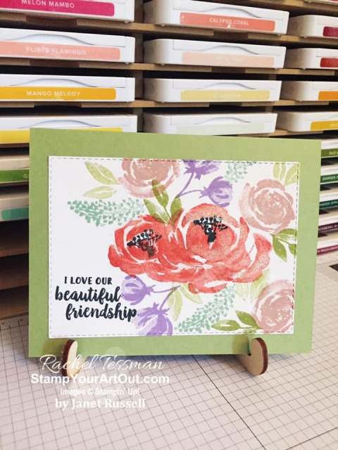 My Stampers With ART Showcase Stamper for the month of March 2020 created some great projects with the Seriously the Best Stamp Set and the Beautiful Friendship Stamp Set. Click here to see all the creations from Janet Russell. - Stampin' Up!® - Stamp Your Art Out! www.stampyourartout.com