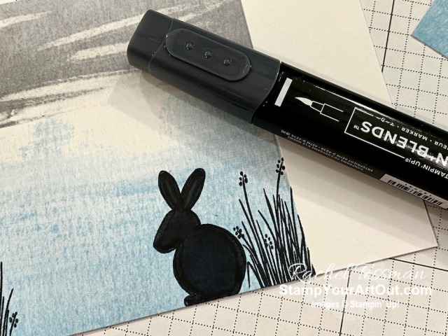 I'm excited to show you a few more ideas that I came up with using the contents of the March 2020 No Matter the Weather Paper Pumpkin kit: a Monster Card, a Silhouette Card, and some Easter 2020 Scrapbook Pages Click here to access measurements, a how-to video with tips and tricks, see other close-up photos, and access links to all the products I used. - Stampin' Up!® - Stamp Your Art Out! www.stampyourartout.com