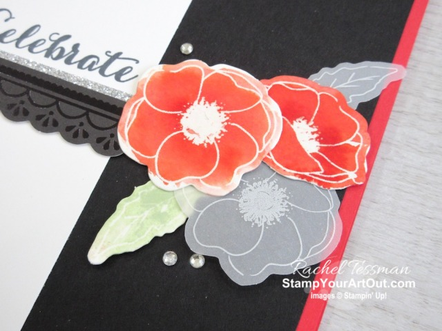 Here are 4 beautiful and super easy greeting cards created with the Peaceful Poppies Elements and coordinating products. I made a bunch of these so I could send them out to each of my club members with their product perks: a pack of Peaceful Poppies Elements. Click here for photos of all the cards, the supplies I used, and helpful tips. - Stampin' Up!® - Stamp Your Art Out! www.stampyourartout.com