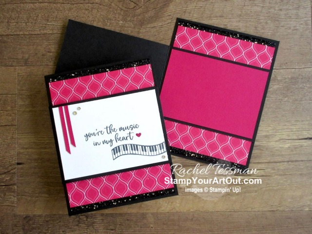 Maui Achievers Blog Hop April 2020: I had fun designing some bold, fun-fold cards with the Music From the Heart Stamp Set and the outgoing 2018-20 In Colors. Click here to get the directions, measurements and supplies AND to see other great ideas shared by fellow Stampin' Up! demonstrators who also earned this fabulous incentive trip still planned for July 2020! - Stampin' Up!® - Stamp Your Art Out! www.stampyourartout.com