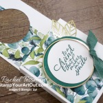 I'm excited to show you how to make a quick and sturdy treat box that can be hung onto any door handle. I share several samples made with retiring papers and products. But the one I demonstrate features new products from the Forever Greenery Suite debuting June 3 in the 2020-21 Annual Catalog. Click here to access measurements, a how-to video with tips and tricks, see other close-up photos, and access links to all the products I used. - Stampin' Up!® - Stamp Your Art Out! www.stampyourartout.com