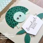 I created a cute baby turtle card that I gifted to a few of my lucky subscribers using the April 2020 My Wonderful Family Paper Pumpkin Kit. Click here for more photos, measurements, a supply list and directions. - Stampin' Up!® - Stamp Your Art Out! www.stampyourartout.com