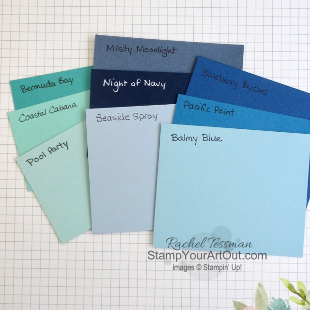 Click here to see the new Stampin' Up! 2020-22 In Colors with a video and photos sharing comparisons of these colors to other current and past colors. - Stampin' Up!® - Stamp Your Art Out! www.stampyourartout.com