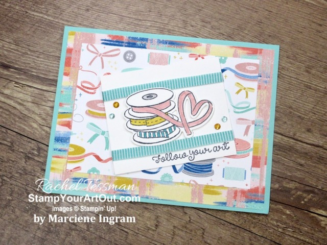 I've been receiving more cards, and I want to share them with you! Some are swap cards I received and some are ones I received in the mail. Either way, I'm so excited to show off these great ideas. Click here to see all these sixteen cards that feature Stampin' Up! products. - Stampin' Up!® - Stamp Your Art Out! www.stampyourartout.com