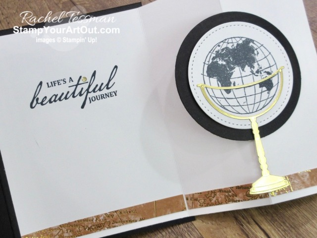 I'm excited to show you how to make a tucked z-fold card using new products debuting June 3, 2020 in the upcoming 2020-21 Annual Catalog: World of Good Specialty Designer Paper, Beautiful World Stamp Set and World Map Dies. Click here to access measurements, a how-to video with tips and tricks, other close-up photos, and links to all the products I used. - Stampin' Up!® - Stamp Your Art Out! www.stampyourartout.com