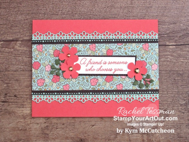 Click here to see photos of a few cards created by a few of my friends using the new Ornate Garden Suite of products. You can also find more information about Stampin' Up!'s opportunity to support organizations that are helping COVID-19 frontline responders and communities vulnerable to the pandemic - the Share Sunshine Product Giveback PDF Download. - Stampin' Up!® - Stamp Your Art Out! www.stampyourartout.com