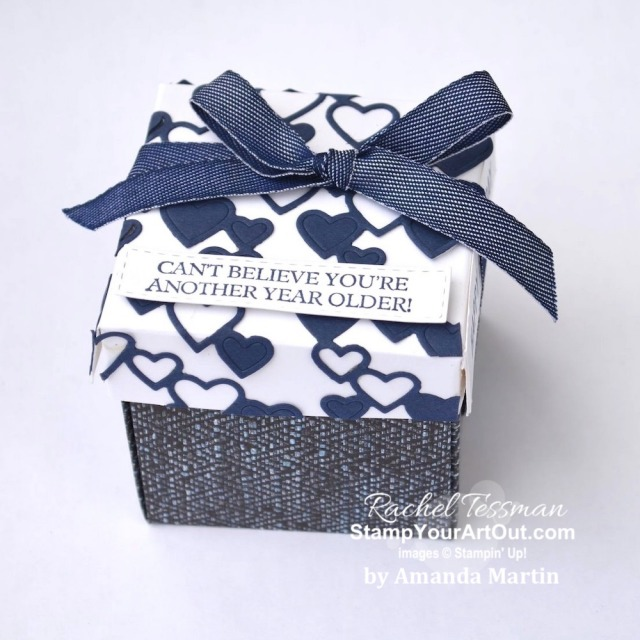My Stampers With ART Showcase Stamper for the month of May 2020 created some great projects with the Itty Bitty Birthdays Stamp Set and Detailed Hearts Die. Click here to see all the creations from Amanda Martin. - Stampin' Up!® - Stamp Your Art Out! www.stampyourartout.com