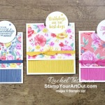 Maui Achievers Blog Hop June 2020: I had fun showing off the new 2020-22 In Colors with these Tucked Insert Fun Fold Cards made with the Flowers for Every Season Designer Paper and coordinating products. Click here for more photos of these 5 cards, for more information AND to see other great ideas shared by fellow Stampin' Up! demonstrators who also earned this fabulous incentive trip now taking place July 2021! - Stampin' Up!® - Stamp Your Art Out! www.stampyourartout.com