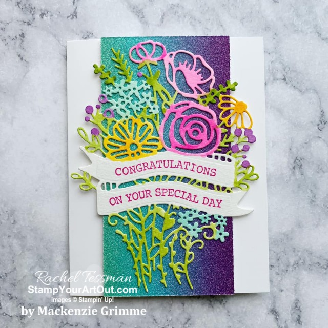My Stampers With ART Showcase Stamper for the month of June 2020 created some beautiful projects with the Hand-Drawn Blooms Stamp Set, Banner Blooms Dies & Artistry Blooms Designer Series Paper. Click here to see all these creations from Mackenzie Grimme. - Stampin' Up!® - Stamp Your Art Out! www.stampyourartout.com