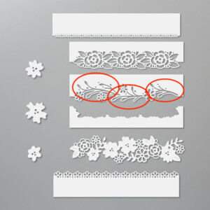 Remember to use the negative pieces from the Ornate Garden Suite dies, too! Stampin' Up!® - Stamp Your Art Out! www.stampyourartout.com