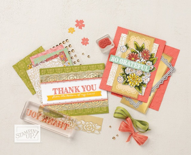 Ornate Garden Suite samples by Stampin' Up! Stampin' Up!® - Stamp Your Art Out! www.stampyourartout.com