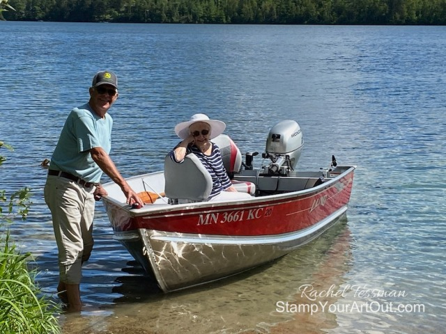Our July 2020 family vacation to Caribou Lake! Stampin' Up!® - Stamp Your Art Out! www.stampyourartout.com