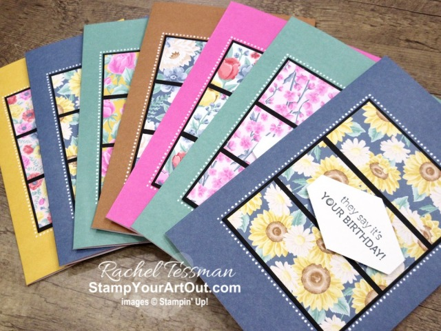 Click here to see a few more cards that I made based on a sketch challenge I shared earlier in the week. I created these cards with the Flowers for Every Season Memories & More products. You'll find photos, measurements, a supply/product list linked to my online store, and helpful tips. - Stampin' Up!® - Stamp Your Art Out! www.stampyourartout.com