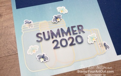 Summer Nights 2020 Scrapbook Pages