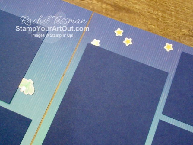 I'm excited to show you one more alternate project that I came up with using the contents of the July 2020 Summer Nights Paper Pumpkin kit: a 12x12 scrapbook page layout that will share memories from the celebration that my family will have after our new campfire patio gets installed this month. Click here to access measurements, directions, more close-up photos, and links to the products I used. - Stampin' Up!® - Stamp Your Art Out! www.stampyourartout.com